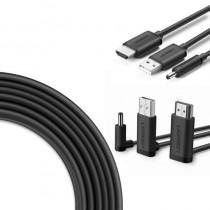 Câble 3en1 pour HTC Vive 5 mètres (non officiel)