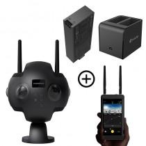 Caméra Insta360 pro 2 + batterie supplémentaire + double chargeur