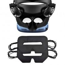 Lot de Protections Hygièniques pour casque VR (noires) - usage unique