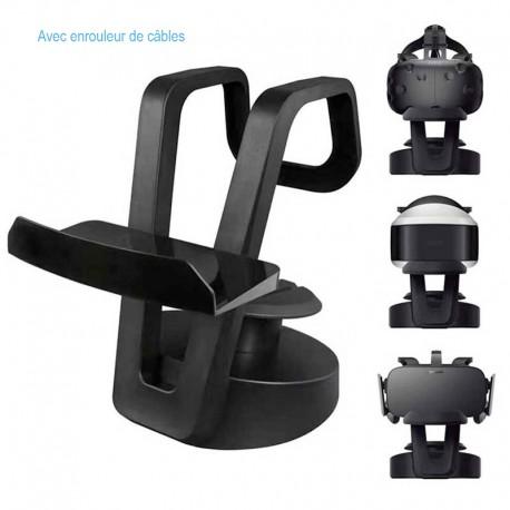 Support casque Réalité Virtuelle VR – HTC Vive – Oculus Rift – PSVR