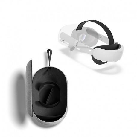 Sangle élite avec batterie et étui de transport pour Oculus Quest 2