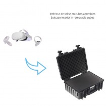 B&W 5000 case for VR headset