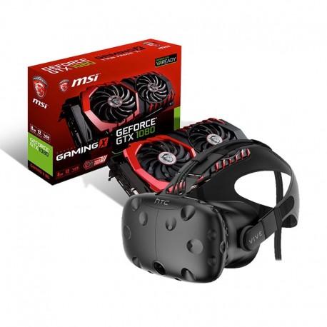 Pack HTC Vive + Carte graphique NVIDIA GeForce GTX 1080 16 Go