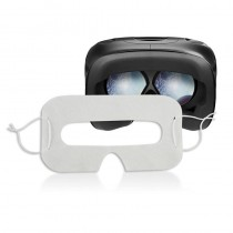 Pack of disposable hygienic protections for VR headset (White)