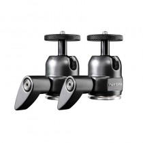 Pack of 1/4 Mantona ball head joints for VR trackers