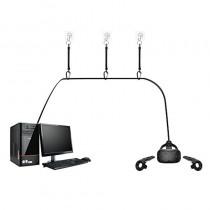 Système d'attaches rétractables pour câbles HTC Vive