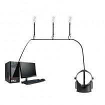 Système d'attaches rétractables pour câbles Oculus Rift