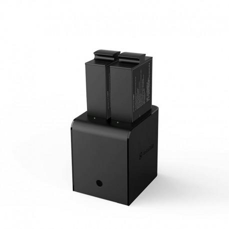 Double Chargeur + 2 batteries pour Insta360 Pro