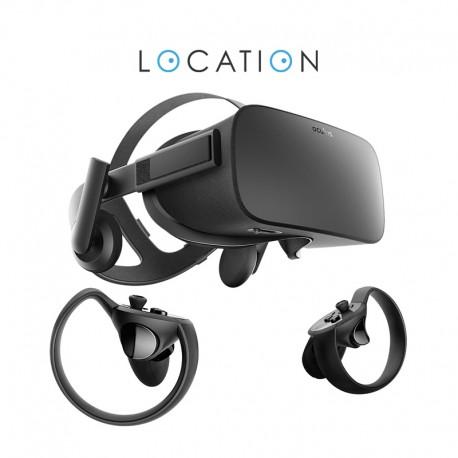 Location Casque Oculus Rift