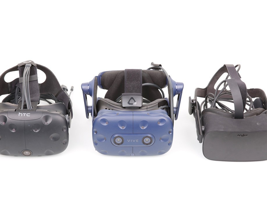 Virtual Reality headset comparison