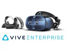The HTC Vive Cosmos and the Advantage Enterprise pack for professionals
