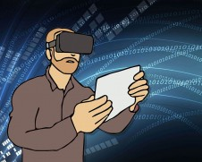 Service of Virtual Reality application service