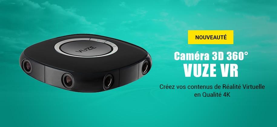 Vuze VR Caméra 360° 3D 4K