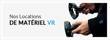 Nos locations VR